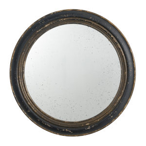 Distressed Brown Mirror