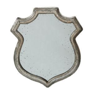 Empire Distressed Silver Mirror