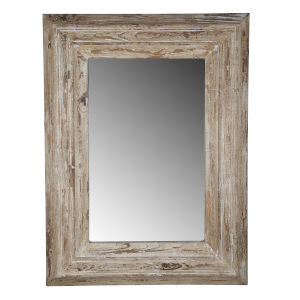 Colfax Antique White Wall Mirror
