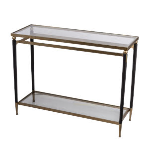 Gold 45-Inch Console Table