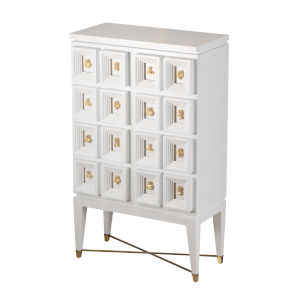 Cream and White Cabinet