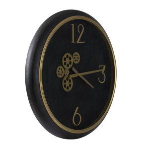 Black Wall Mounted Clock