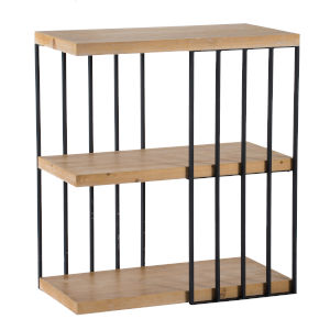 Black 39-Inch Free Standing Shelf