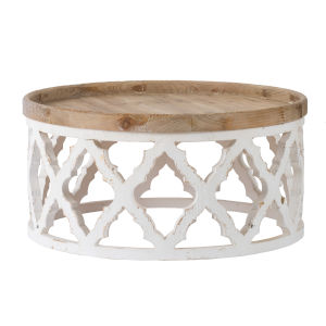Weathered White Coffee Table