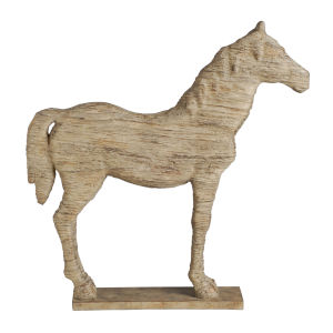 Natural Defiance Standing Horse Figurine