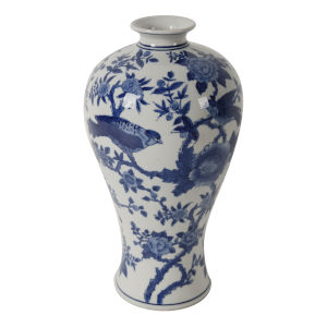 Ren Blue and White Vase