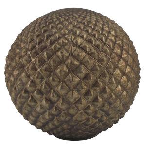 Iron Ore Eight-Inch Modern Copper Decorative Ball