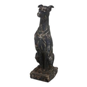 Black 31-Inch Dog Figurine