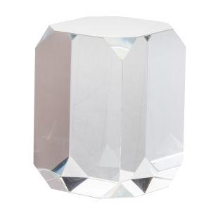 Clear Glass Cube Glass Cube Decorative Accessory