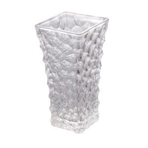 Clear 12-Inch Vintage Glamour Vase