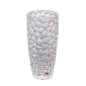 Clear 14-Inch Vintage Glamour Vase