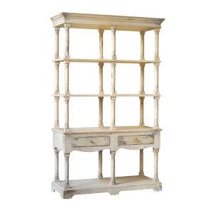 Adela White Free Standing Bookcase