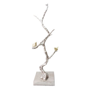 Gold And Silver Branch Decorative Object