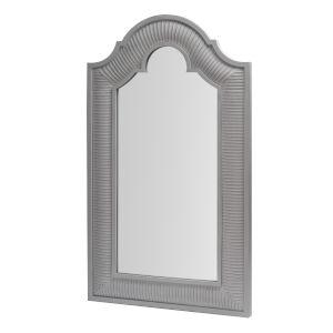 Gray White Color Floor Mirror