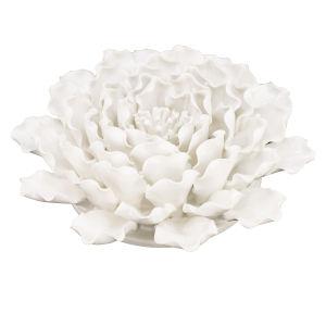 White 3-Dimensional Handmade Flower Wall Decor