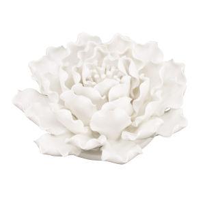 Cream 6-Inch 3-Dimensional Handmade Flower Wall Decor