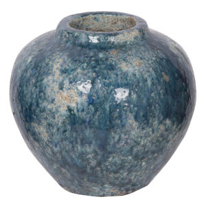 Firth Blue 12-Inch Vase