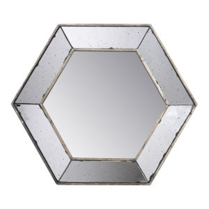 Antique Hexagon Mirror