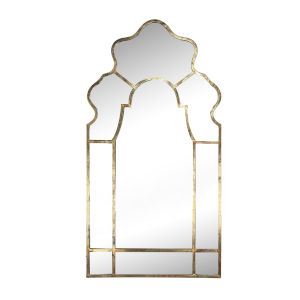 Timeless Gold Garden Mirror