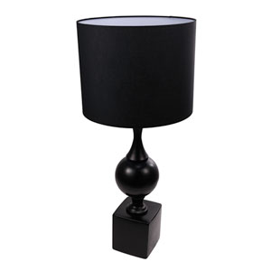 Black Tall Table Lamp