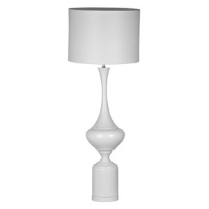 White Tall Table Lamp