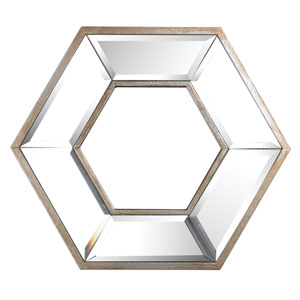 Hexagon Wall Mirror