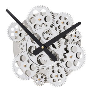 Inside-Out Wall Clock