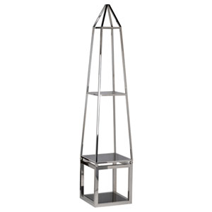 Hovatter Silver Accent Shelf