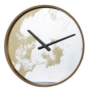 Gold Wall Clock