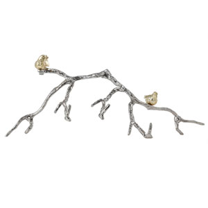 Gold and Silver Branch Wall Décor