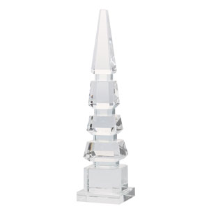 Alighieri Spired Obelisk Sculpture