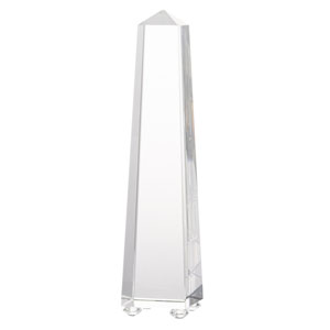 Alighieri Clear Obelisk
