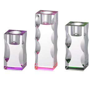 Callie Etagere Candle Holders, Set of Three