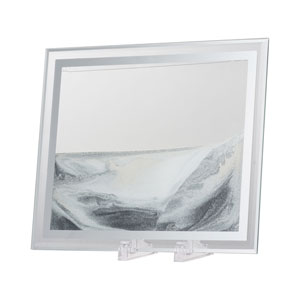 Moving Gray and White Sand Table Art
