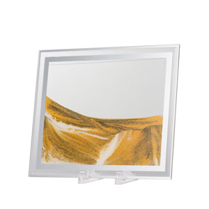 Moving Yellow Sand Table Art