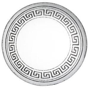 Venetucci Collection Glass Greek Key Mirror