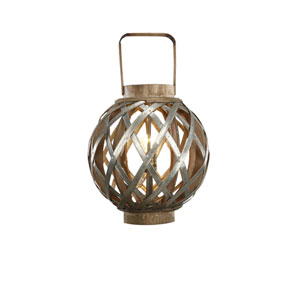 Venetucci Collection Silver One-Light Table Lamp