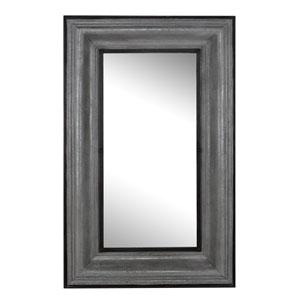 Antique Silver Rectangular Wall Mirror