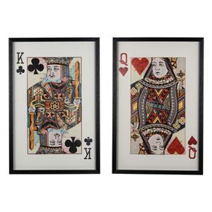 Royal Pair Wall Art, Set of Two