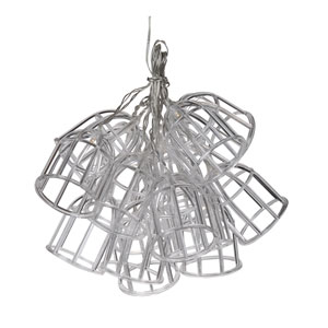 Clear LED String Fifteen-Light Chandelier