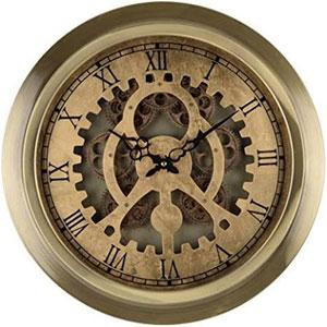 Bronze Wall Clock