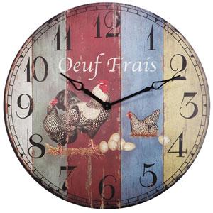 Florence de Dampierre by AB Home Multicolor Wall Clock