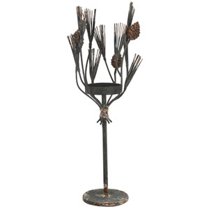 Florence de Dampierre by AB Home Brown Candle Holder