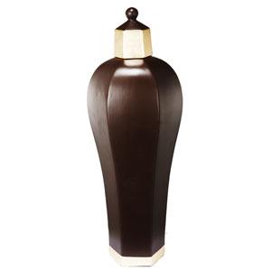 10 Carnevali Brown 20-Inch Tall Ceramic Lidded Jar