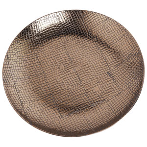 10 Carnevali Brown Ceramic Decorative Plate