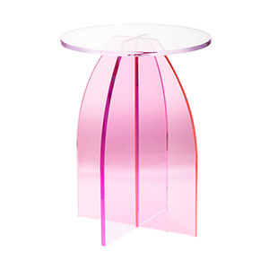 Callie Pink Side Table