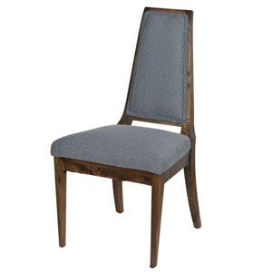 Maeva Blue Stripe Chair