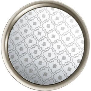 kathy ireland designs Silver 15.5-Inch Tray