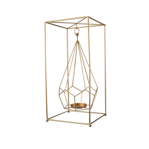 Brass Hanging Candle Holder