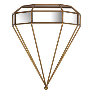 Haley Gold Wall Shelf